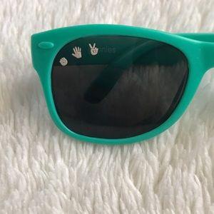 509450105912 Roshambo Baby Accessories - Roshambo Baby Wayfarer Style Sunglasses - 0-2  yrs